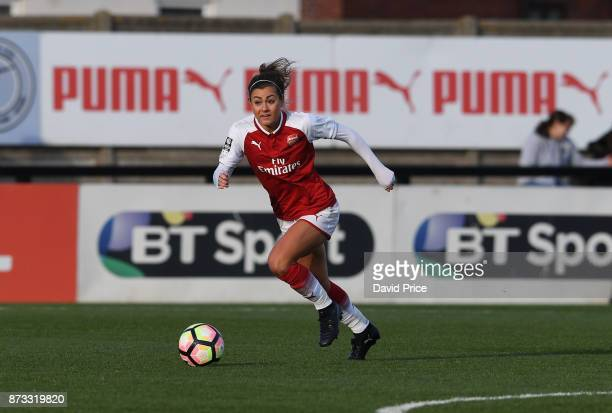 Jemma Rose of Arsenal during the WSL match between Arsenal Women and Sunderland on November 12 2017 in Borehamwood United Kingdom