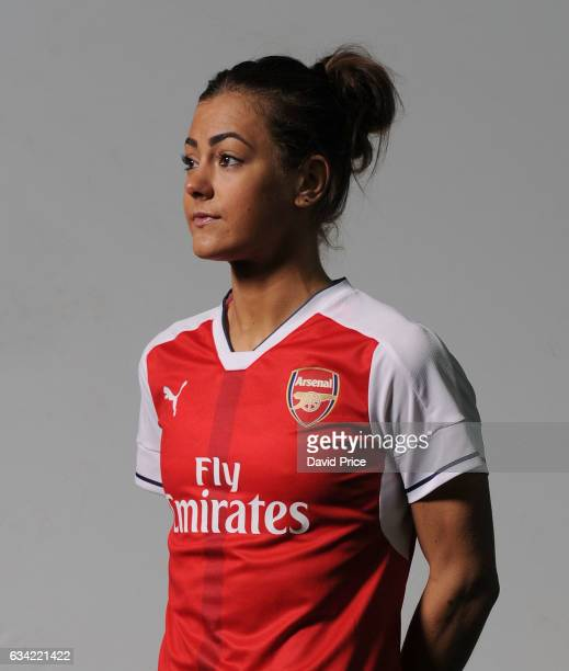 Jemma Rose of Arsenal Ladies during Arsenal Ladies Photocall at London Colney on February 7 2017 in St Albans England