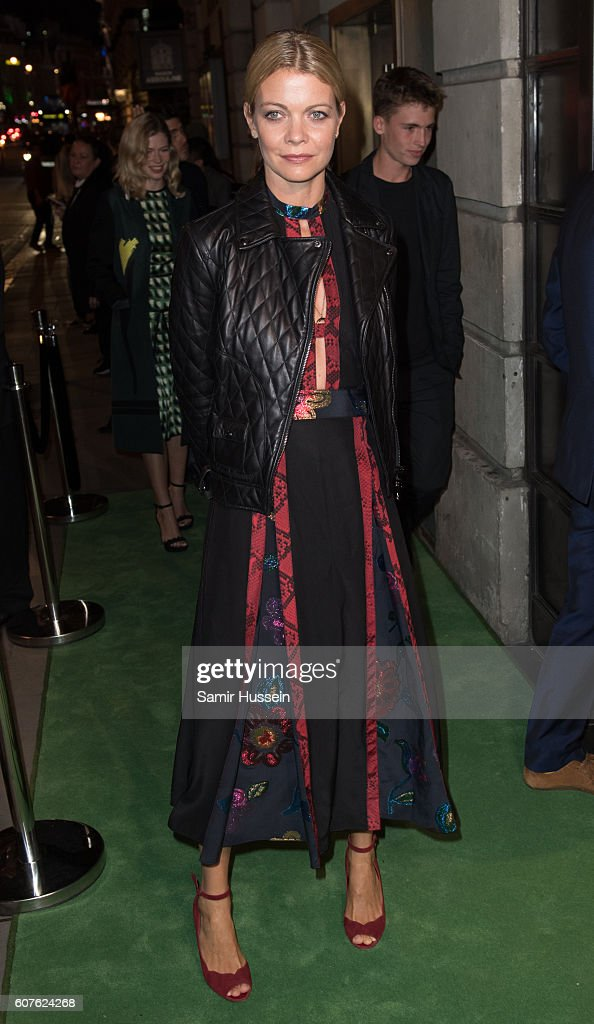 Jemma Wellesley, Marchioness of Douro, attends A Green Carpet Challenge BAFTA Night during London Fashion Week Spring/Summer collections 2017 on September 18, 2016 in London, United Kingdom.