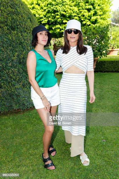 Jen Atkin and Rosetta Getty attends Rosetta Getty's third annual Tuscany weekend at Villa Cetinale on July 2 2018 in Italy