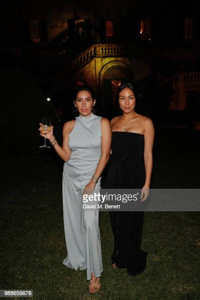 Jen Atkin and Stephanie Shepherd attend Rosetta Getty's third annual Tuscany weekend at Villa Cetinale on June 30 2018 in Italy