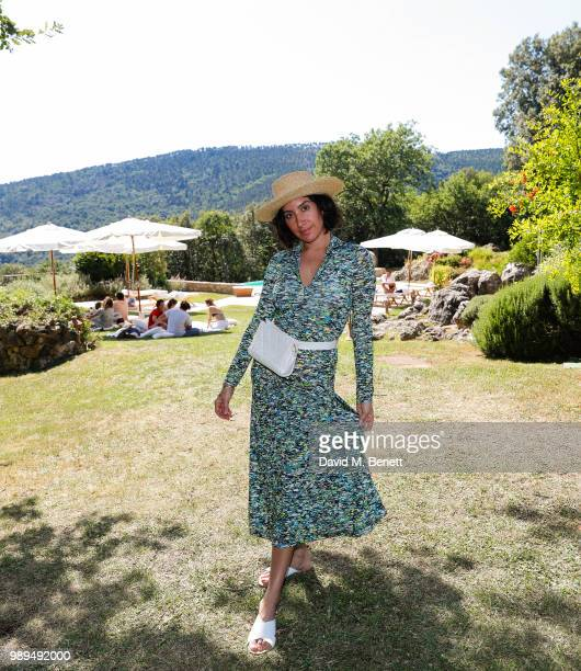 Jen Atkin attends Rosetta Getty's third annual Tuscany weekend at Villa Pipistrelli on July 1 2018 in Sovicille Italy