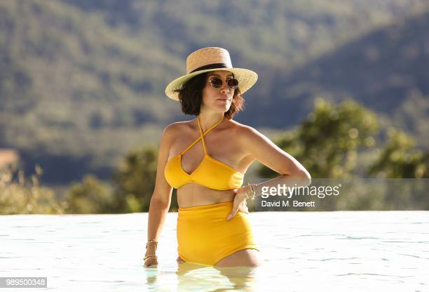 Jen Atkin attends Rosetta Getty's third annual Tuscany weekend at Villa Pipistrelli on July 01 2018 in Sovicille Italy