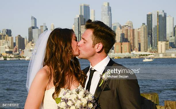 Jen Curci and Ryan Doyle at the wedding of Jen Curci and Ryan Doyle on June 18 2016 in New York City