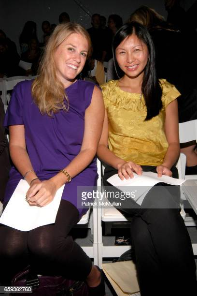 Jen Davis and Annie Chen attend CYNTHIA STEFFE Spring 2010 Collection at The Salon on September 11 2009 in New York City