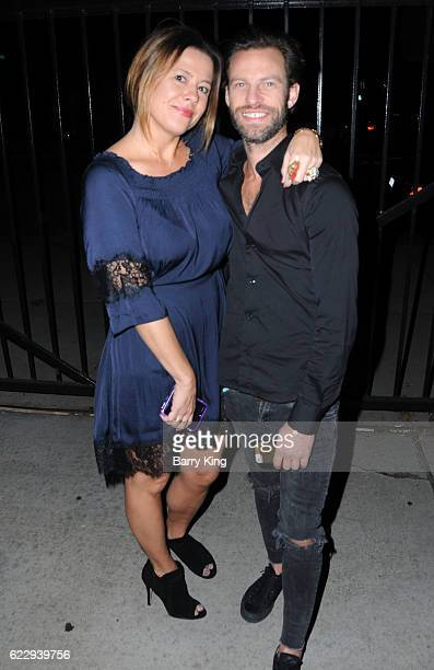 Jen DiSisto and Sam Madill attend 'Hindsight Is 30/40 A Group Photographer Exhibition' at The Salon at Automatic Sweat on November 12 2016 in Los...
