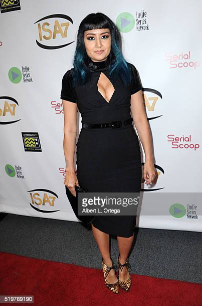 Jen Fregozo at the 7th Annual Indie Series Awards held at El Portal Theatre on April 6 2016 in North Hollywood California