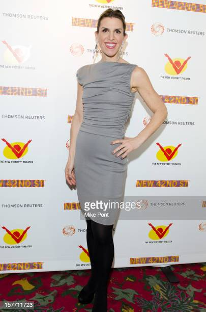 Jen Gilbert attends the 2012 New 42nd Street gala at The New Victory Theater on December 5 2012 in New York City