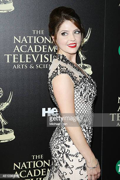 Jen Lilley arrives at the 41st Annual Daytime Emmy Awards held at The Beverly Hilton Hotel on June 22 2014 in Beverly Hills California