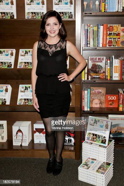 Jen Lilley attends the 'Days Of Our Lives' cast member book signing for 'Days Of Our Lives Better Living Cast Secrets For A Healthier Balanced Life'...