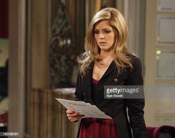 HOSPITAL Jen Lilley in a scene that airs the week of February 27 2012 on ABC Daytime's 'General Hospital' 'General Hospital' airs MondayFriday on the...