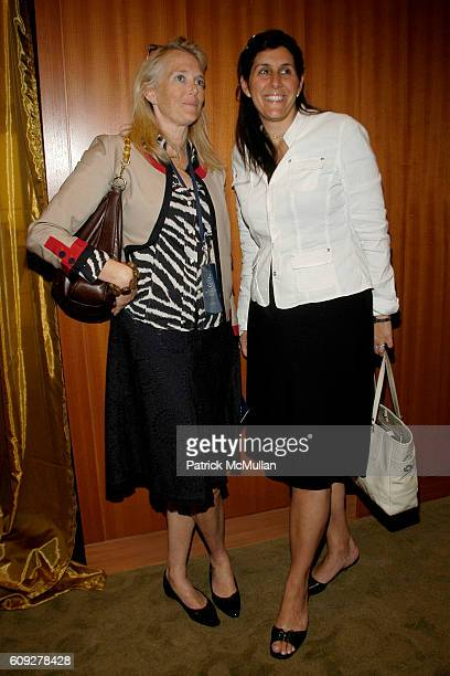 Jen Maguire and Christa Robinson attend CONVERSATIONS ON THE CIRCLE With Senator Barack Obama And Dick Parsons at Time Warner Headquarters on July 24...