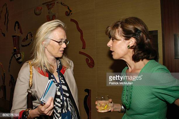 Jen Maguire and Peggy Siegal attend CONVERSATIONS ON THE CIRCLE With Senator Barack Obama And Dick Parsons at Time Warner Headquarters on July 24...