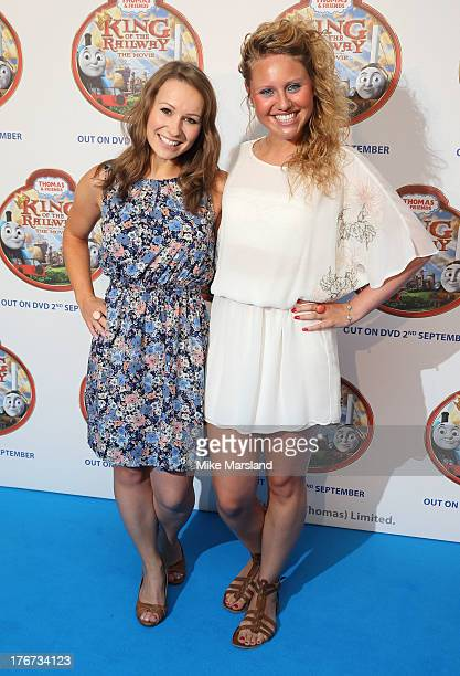 Jen Pringle and Olivia Birchenough attend VIP Screening of Thomas & Friends: King Of The Railway at Vue Leicester Square on August 18, 2013 in...