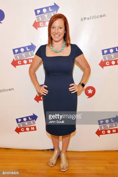 Jen Psaki at Politicon at Pasadena Convention Center on July 29 2017 in Pasadena California