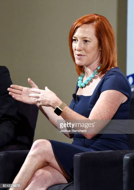 Jen Psaki at 'The Obama Legacy' panel during Politicon at Pasadena Convention Center on July 29, 2017 in Pasadena, California.