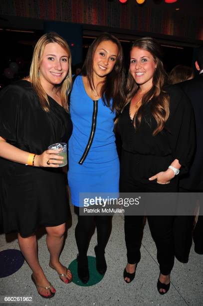Jen Ross Jessica Hodin and Emily Washkowitz attend ASSOCIATION to BENEFIT CHILDREN hosts COCKTAILS IN CANDYLAND at Dylan's Candy Bar on June 18 2009...