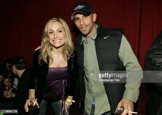 """Jen Schefft and Billy Dec during Super Bowl XXXIX - The """"Maximony"""" Super Ball Party - February 5, 2005 at The Garden Club in Jacksonville, Florida,..."""