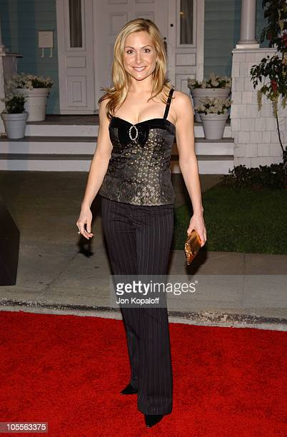 Jen Schefft of 'The Bachelorette' during 2005 ABC Winter Press Tour Party Arrivals at Universal Studios in Universal City California United States