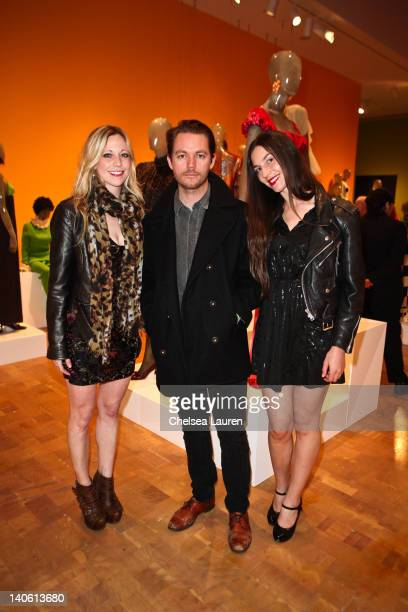 "Jen Smith, Jesse White, Emilia Chiuzzi attend the MOCA Leadership Circle reception and members' opening for ""The Total Look: The Creative..."