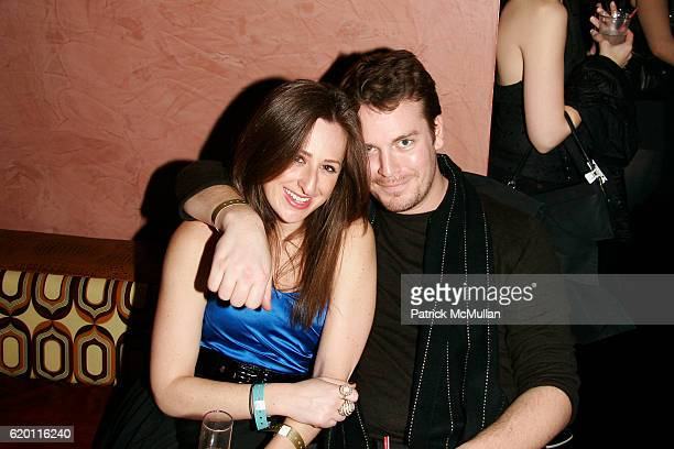 Jen Weinberg and Billy Farrell attend ASMALLWORLD End Of Fashion Week Party At The Opening Of MANSION NY at Mansion on February 9 2008 in New York...