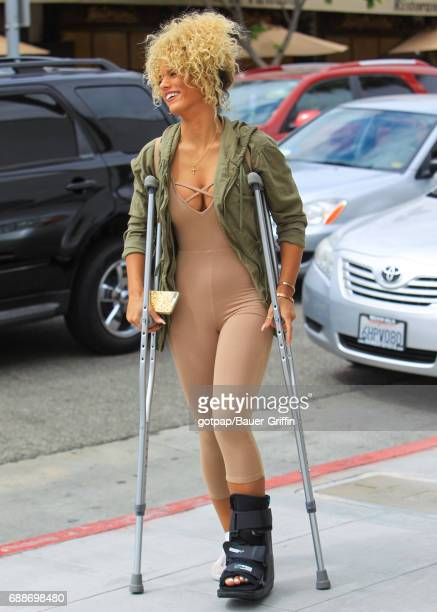 Jena Frumes is seen on May 25 2017 in Los Angeles California