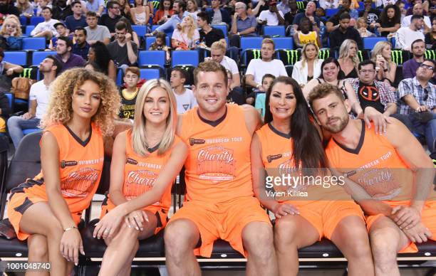 Jena Frumes Lindsay Arnold Colton Underwood Jena Frumes and Nick Viall attend Monster Energy Outbreak Presents $50K Charity Challenge Celebrity...