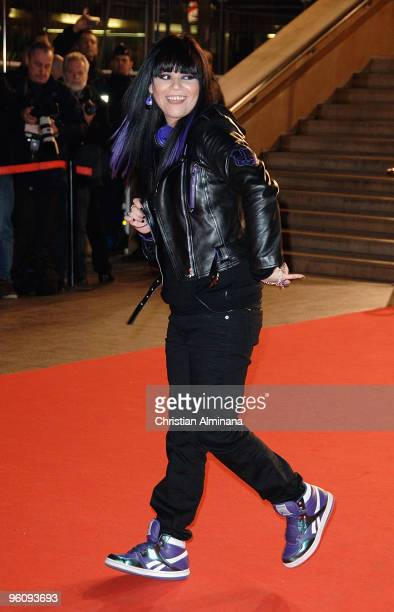 Jena Lee attends the 11th NRJ Music Awards at Palais des Festivals on January 23 2010 in Cannes France