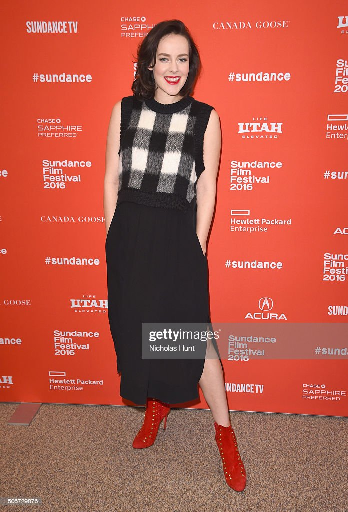 Jena Malone attends 'Lovesong' Premiere during the 2016 Sundance Film Festival at Eccles Center Theatre on January 25, 2016 in Park City, Utah.