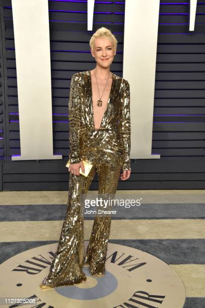 Jena Malone attends the 2019 Vanity Fair Oscar Party hosted by Radhika Jones at Wallis Annenberg Center for the Performing Arts on February 24, 2019...