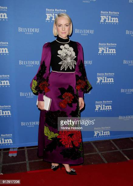 Jena Malone attends the 33rd annual Santa Barbara International Film Festival opening night premiere of 'The Public' at Arlington Theatre on January...