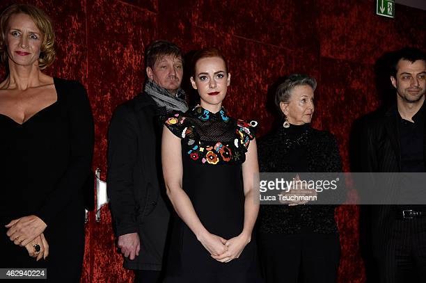 Jena Malone attends the 'Angelica' premiere during the 65th Berlinale International Film Festival at Zoo Palast on February 7 2015 in Berlin Germany