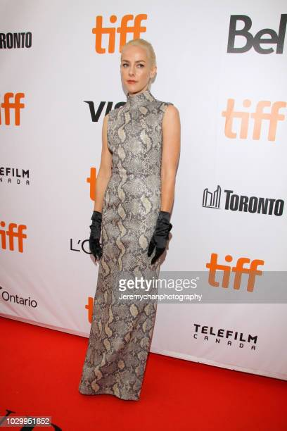 Jena Malone attends 'The Public' Premiere during 2018 Toronto International Film Festival at Roy Thomson Hall on September 9 2018 in Toronto Canada