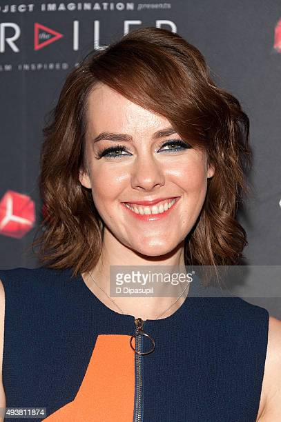 Jena Malone attends The Rusted New York premiere at AOL Studios In New York on October 22 2015 in New York City