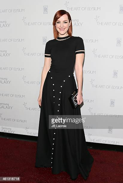 Jena Malone attends the The Art Of Elysium 8th Annual Heaven Gala at Hangar 8 on January 10 2015 in Santa Monica California