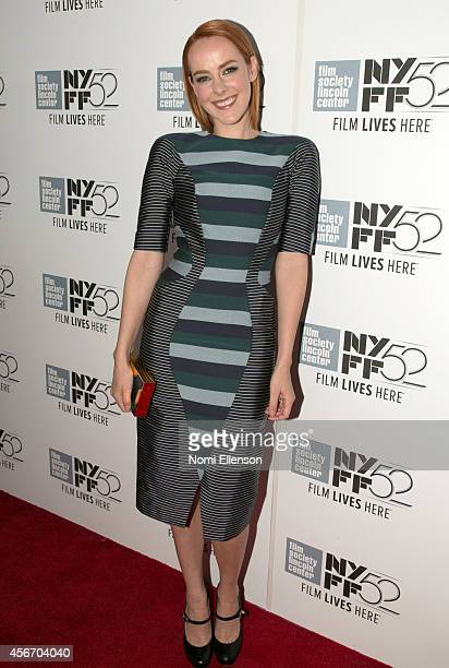 """Jena Malone attends the """"Time Out Of Mind"""" premiere during the 52nd New York Film Festival at Alice Tully Hall on October 5, 2014 in New York City."""