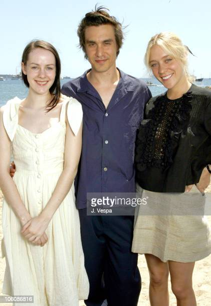 Jena Malone director M Blash and Chloe Sevigny during 2006 Cannes Film Festival 'Lying' Portraits at American Pavilion in Cannes France