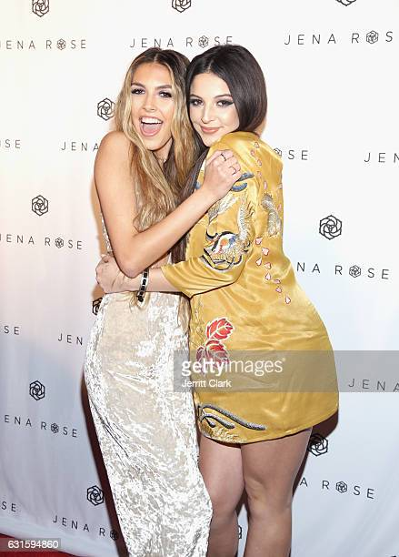 Jena Rose and Chlo Subia attends Singer Jena Rose's Birthday Celebration At Bardot on January 12 2017 in Hollywood California