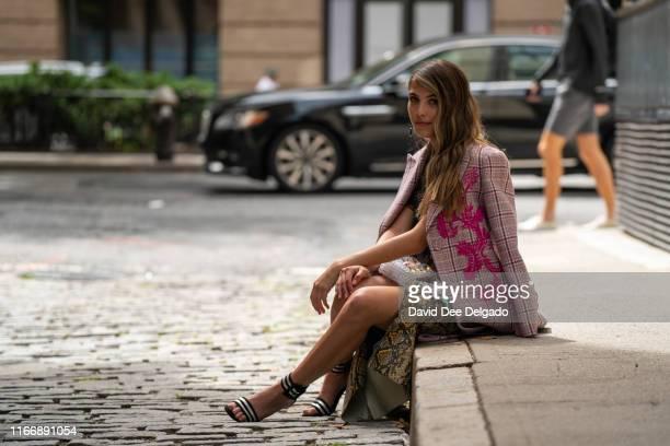 Jena Rose at Spring Studios during New York Fashion Week on September 8, 2019.