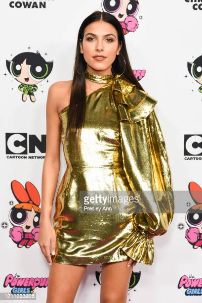 Jena Rose attends Christian Cowan x Powerpuff Girls Runway Show on March 08 2020 in Hollywood California