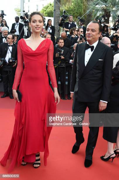 Jenaye Noah attends 'The Killing Of A Sacred Deer' premiere during the 70th annual Cannes Film Festival at Palais des Festivals on May 22 2017 in...