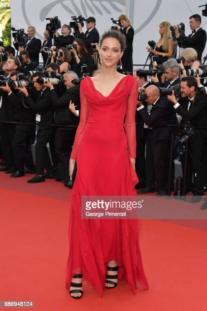Jenaye Noah attends 'The Killing Of A Sacred Deer' screening during the 70th annual Cannes Film Festival at Palais des Festivals on May 22 2017 in...