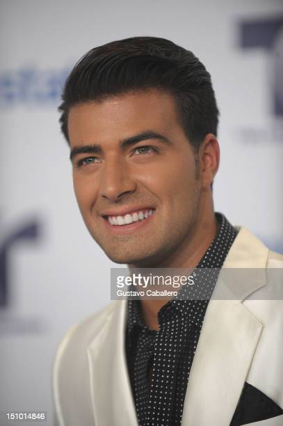 Jencarlos Canela arrives at Telemundo's Premios Tu Mundo Awards at Fillmore Miami Beach on August 30 2012 in Miami Beach Florida