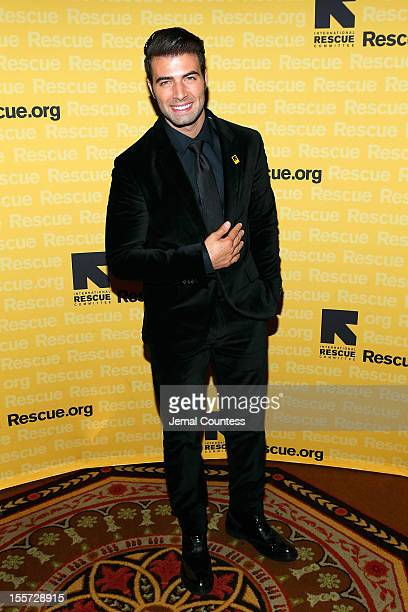 Jencarlos Canela attends the annual Freedom Award Benefit hosted by the International Rescue Committee at The Waldorf=Astoria on November 7 2012 in...