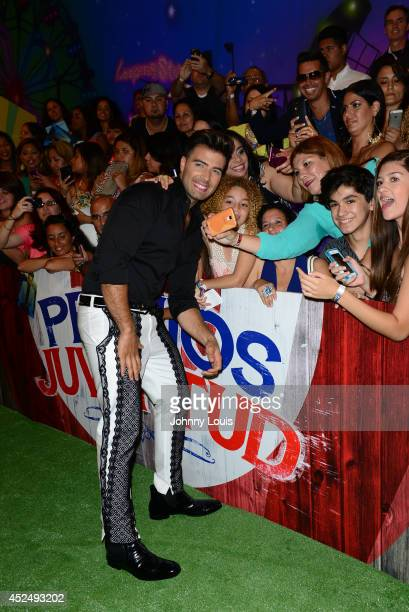 Jencarlos Canela attends the Premios Juventud 2014 Awards at Bank United Center on July 17 2014 in Miami Florida