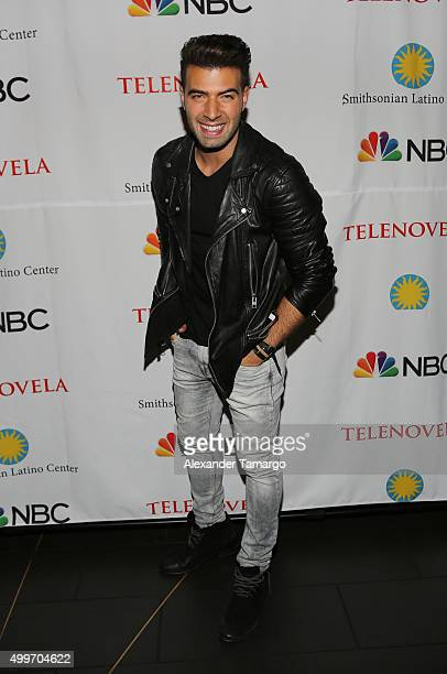 Jencarlos Canela is seen at the 'Telenovela' Miami screening event Hosted By The Smithsonian at CineBistro Dolphin Mall on December 2 2015 in Miami...