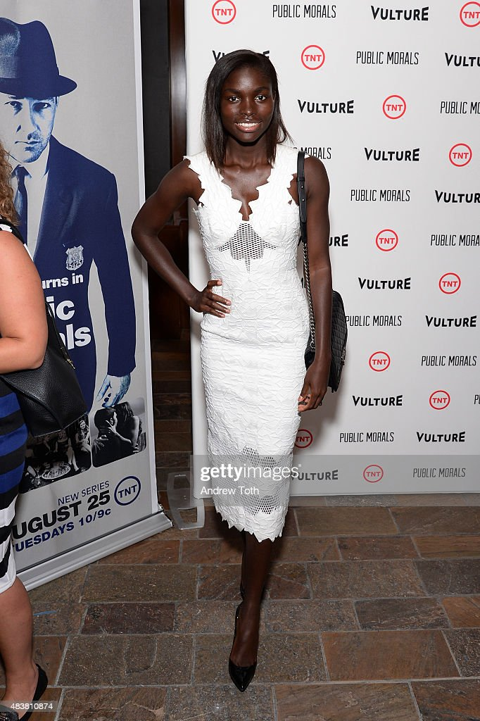 Jeneil Williams attends the 'Public Morals' New York series screening at Tribeca Grand Screening Room on August 12, 2015 in New York City.