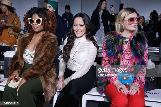 Jenelle Evans and Francesca Curran attend the Indonesian Diversity FW19 Collections 2Madison Avenue Alleira Batik Dian Pelangi and Itang Yunas front...