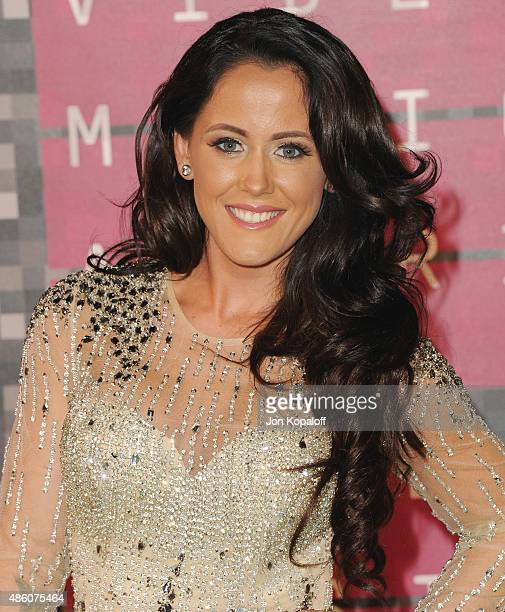 Jenelle Evans arrives at the 2015 MTV Video Music Awards at Microsoft Theater on August 30 2015 in Los Angeles California