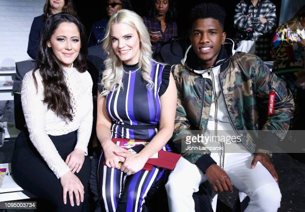 Jenelle Evans Ashley Martson and Jay Smith attend the Indonesian Diversity FW19 Collections 2Madison Avenue Alleira Batik Dian Pelangi and Itang...